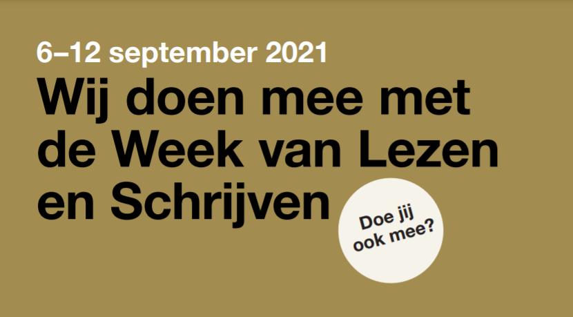 Week van Lezen en Schrijven Westerkwartier - Promotie Noord